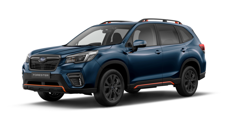 Subaru Forester Sonderedition 2.0ie EDITION SPORT40 frontansicht